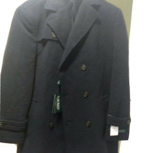 R.L Labrada Double-Breasted Wool-Blend Peacoat
